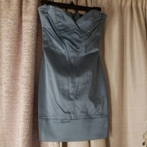 Bebe Mini Dress Dark Teal
